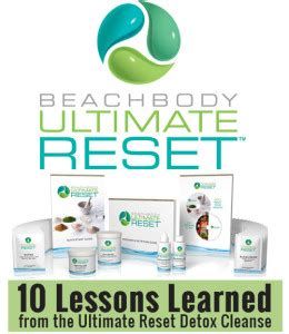 The Ultimate Reset Detox 10 lessons learned from the ultimate reset detox cleanse