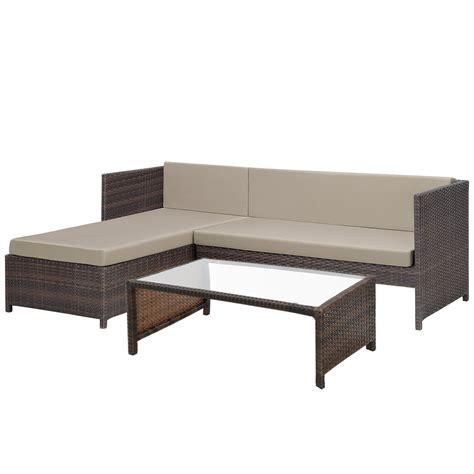 qualität teak gartenmöbel uk casa pro 174 poly rattan lounge corner sofa table garden