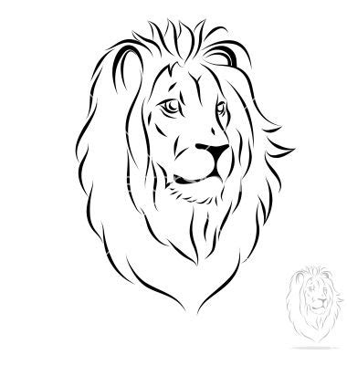 lion outline tattoo gallery outline drawing drawings gallery