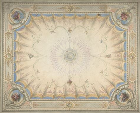 Dollhouse Ceiling Wallpaper by Dollhouse Miniature Ceiling Mural Wallpaper 6099 By Itsy