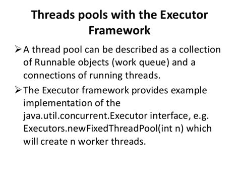 tutorial java executor multithreading and concurrency in android