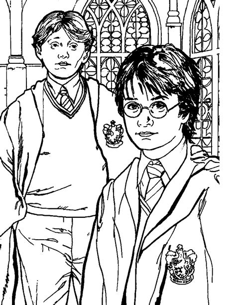 harry potter coloring book colored printable harry potter coloring pages coloring me