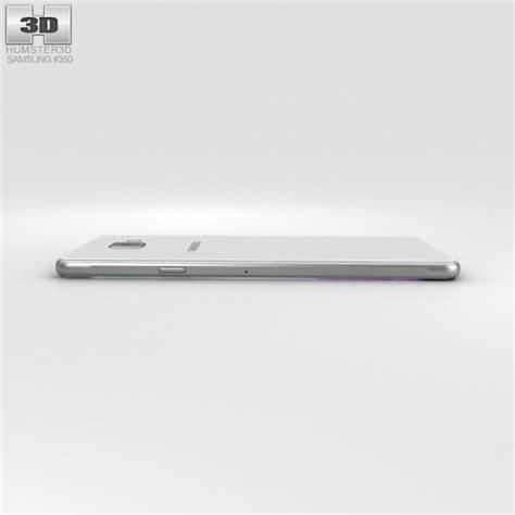 3d Samsung A7 2016 samsung galaxy a7 2016 white 3d model hum3d