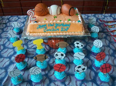 ball themed party Birthday Party Ideas   Photo 1 of 19