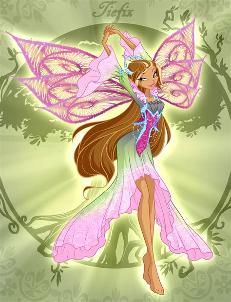 flora the art of winx club flora tiefix by fantazyme on