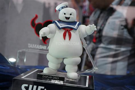 s h figuarts figure bandai s h figuarts stay puft shown at sdcc