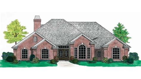 one story french country house plans french country house plans one story small country house
