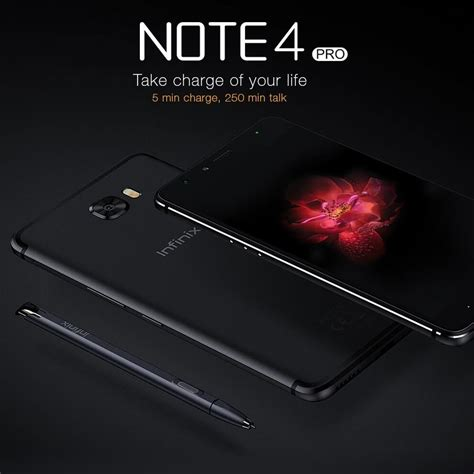 Infinix Note 4 Pro X571 With Smartcover And Stylus Xpen infinix note 4 pro x571 3gb ram 32gb rom sandstone black with xpen and smart cover lazada ph