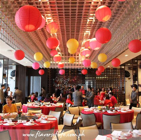 new year dinner cheap restaurant decor supply get overhead lights are fastened