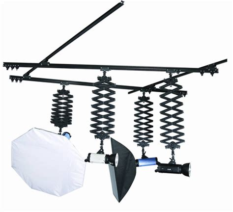 Karlite Ceiling Mounted Pantograph System 4 Pantographs Ceiling Mounted Track System