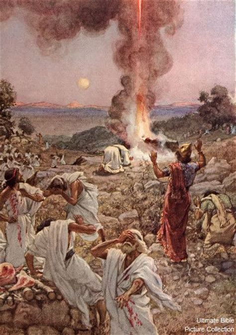 The Prophets Of Baal elijah calls for from heaven 1st 18 38
