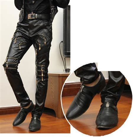 ramut pria hip hop negro aliexpress com beli ritsleting jahitan hitam ketat celana
