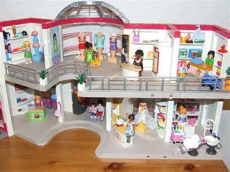 Playmobil Scheune Bauanleitung by Playmobil Shopping Center Store 5485 Aufbau Funktionen