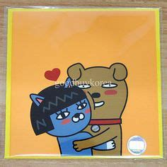 Ebay Of The Day Smurftastic by Kakao Friends Embossing Sticker Office Kakao Talk