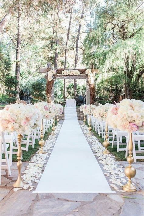 20 Breathtaking Wedding Aisle Decoration Ideas to Steal