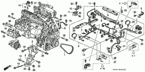 1995 honda accord wiring harness wiring diagram with