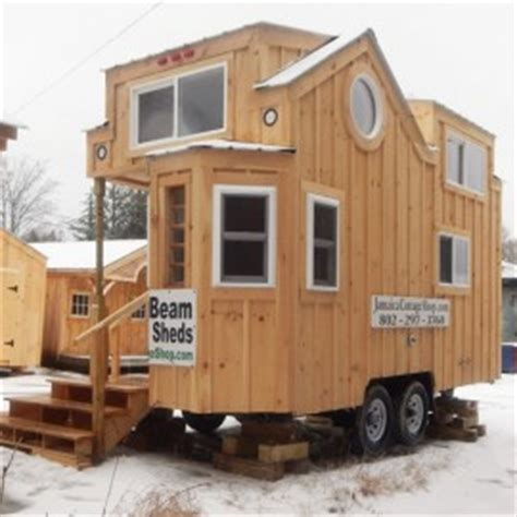 the latest tiny house on wheels from jamaica cottage shop tiny houses plans small home kits prefab tiny house