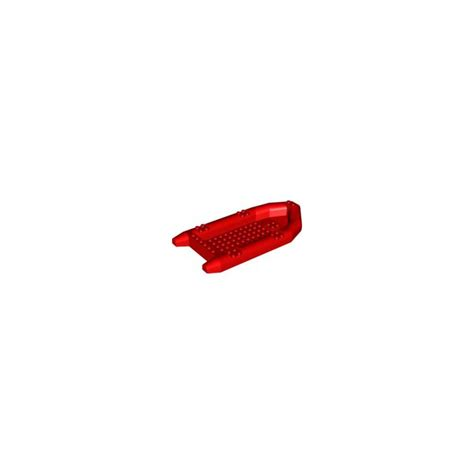 lego boat red lego red rubber boat 22 x 10 x 3 62812 brick owl