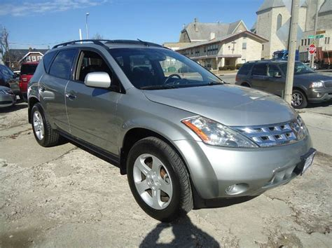 2003 nissan murano se 2003 nissan murano se awd 4dr suv in milwaukee wi