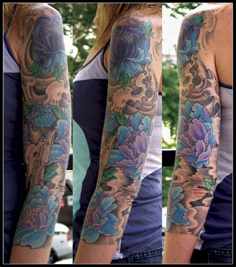 vire tattoo pinterest like the mix of black grey with color nice sleeve