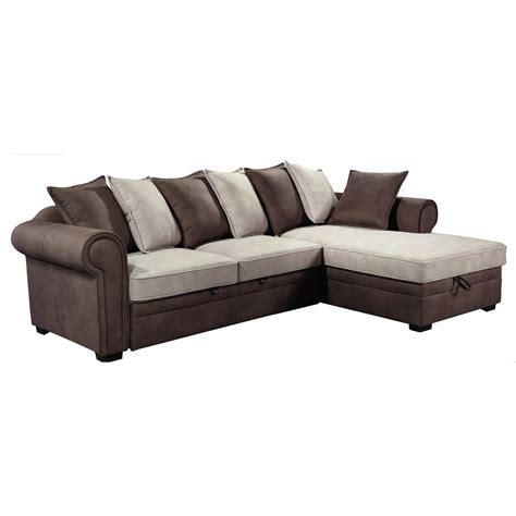 Fabric Corner Sofa Bed Sale Sofa Bed Right Corner Fabric Nabuk Light Brown Ecru