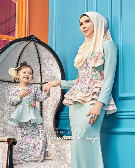 minaz fashion baju raya minaz 2017 muslimah fashion hijab style