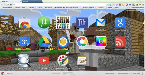 theme google minecraft my minecraft google chrome theme by markdoob on deviantart