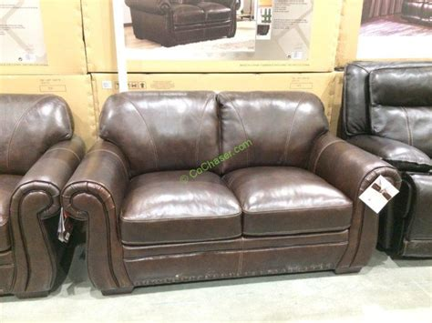 Simon Li Leather Sofa Loveseat Costcochaser Simon Li Leather Sofa Costco