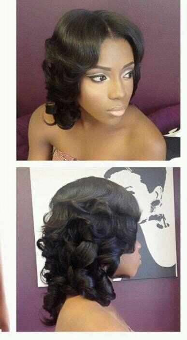 hairstyles down the middle 8 best images about wedding hair on pinterest black