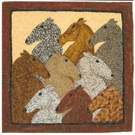 primitive rug hooking patterns nine primitive rug hooking pattern by maryellenwolffdesign