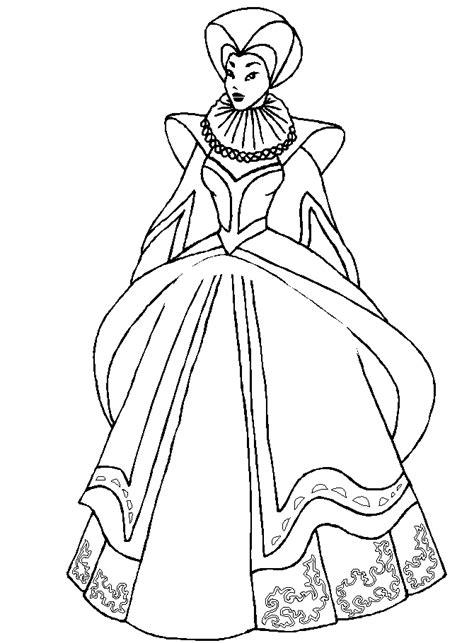 renaissance princess coloring pages princess coloring pages az coloring pages