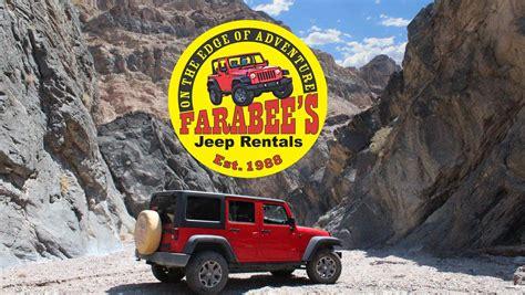 Valley Jeep Rentals Farabee Rentals Tours Valley And Colorado
