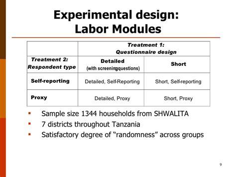 experimental design questions survey design choices implications for measuring gender