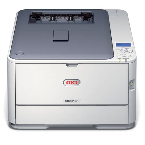 oki c531dn a4 colour led laser printer 01327801