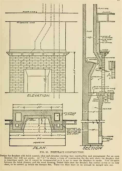 brick fireplaces fireplace and shown