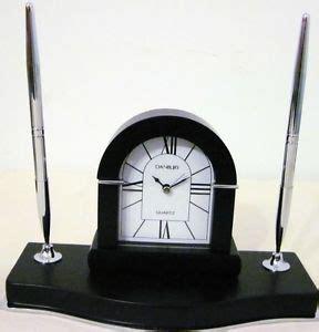 danbury desk clock pen set and co quartz desk clock on popscreen