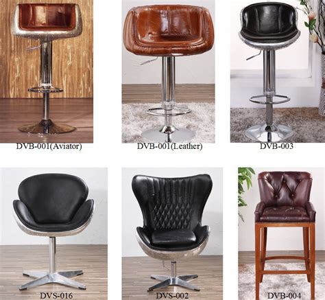 Genuine Leather Bar Stools by Vintage Aviation Genuine Leather Bar Stool Buy Genuine
