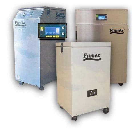 clean air with fumex air purifier systems fume extractor systems