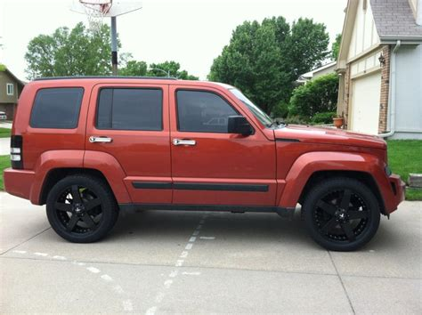red jeep liberty 2009 boss27hog 2009 jeep libertysport specs photos