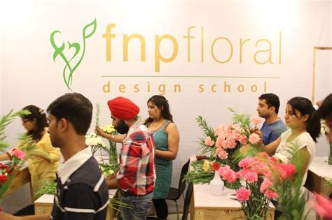 flower design education fnp floral design school leading florist training