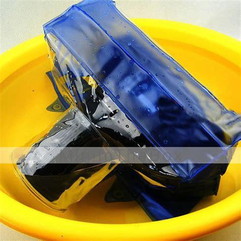 Waterproff Water Proff Tas Anti Air Bukan Fisheye Tongsis Superwi T19 high quality dslr slr waterproof bag durable bag for photo underwater blue