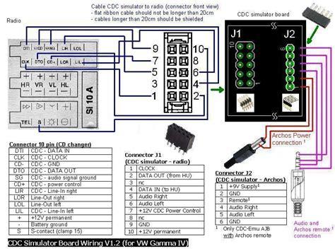 vag cd wechsler simulator cdc emulator und archos