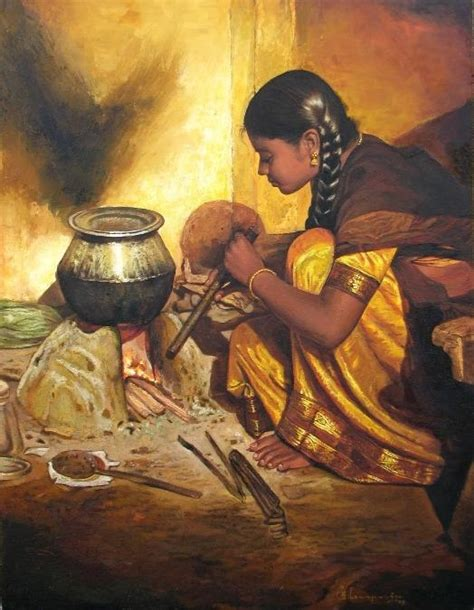 painting cooking tamil entertain realistic painting
