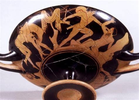 vasi a figure rosse collezione greca la ceramica attica a figure rosse