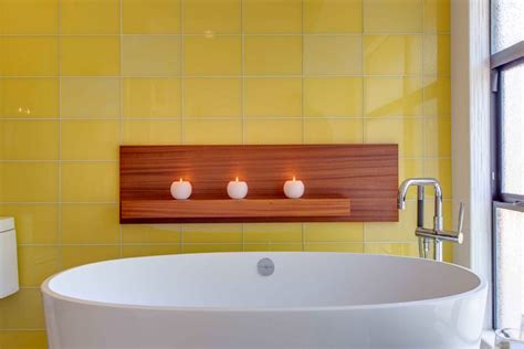 yellow bathtub 25 bathtub tile designs decorating ideas design trends