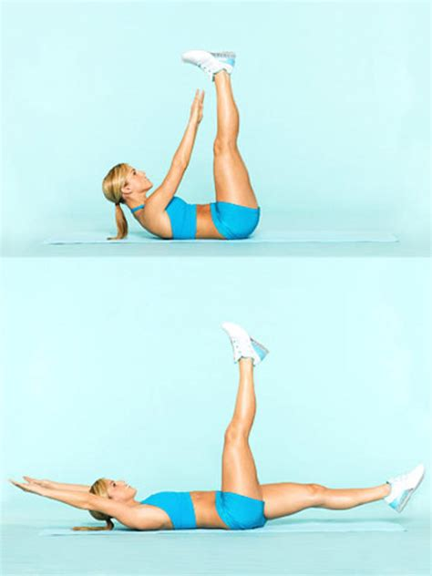 get a flat belly in 10 minutes fitness magazine