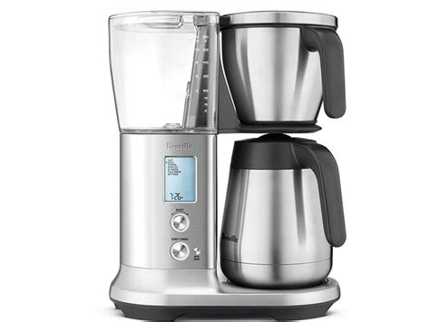 Breville Coffee Maker breville precision brewer drip coffee maker with thermal carafe bdc450bss espresso planet canada