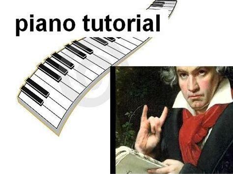 tutorial piano canzoni facili come suonare bethoveen per elisa piano tutorial youtube