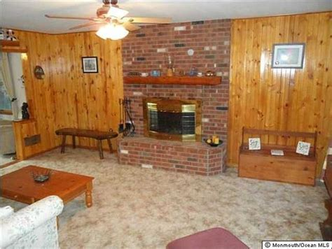 to paint brick fireplace or to paint take out knotty pine plank wall