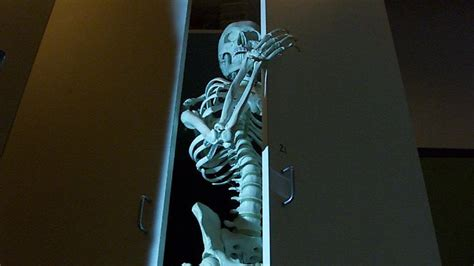 Skeletons In Closet by Workers Find Skeleton In Japanese Closet Literally